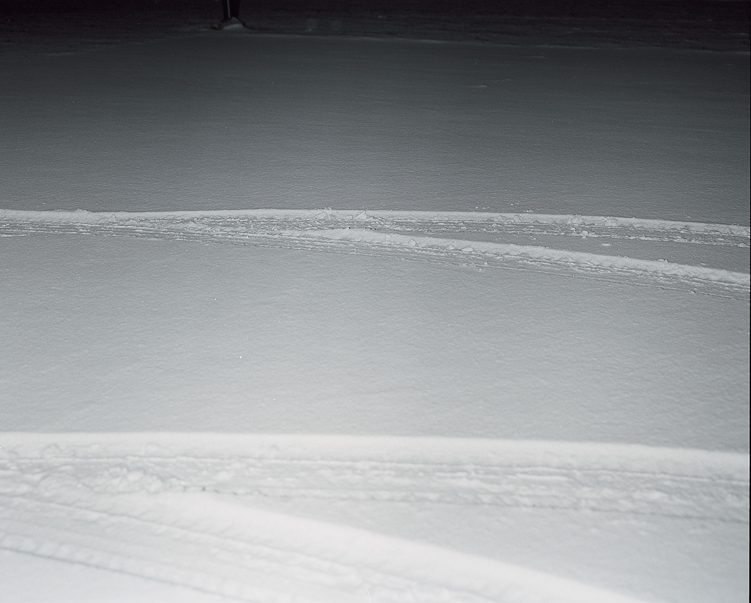 Time documents (snow covered parking lot) by Eric Davidsson